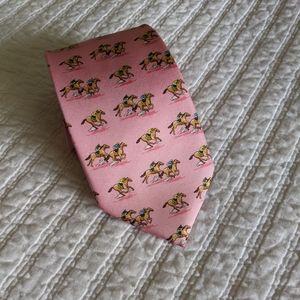 Bird Dog Bay silk handmade tie